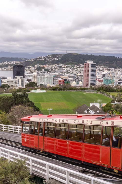 städte in neuseeland - wellington city view