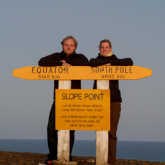 am slope point
